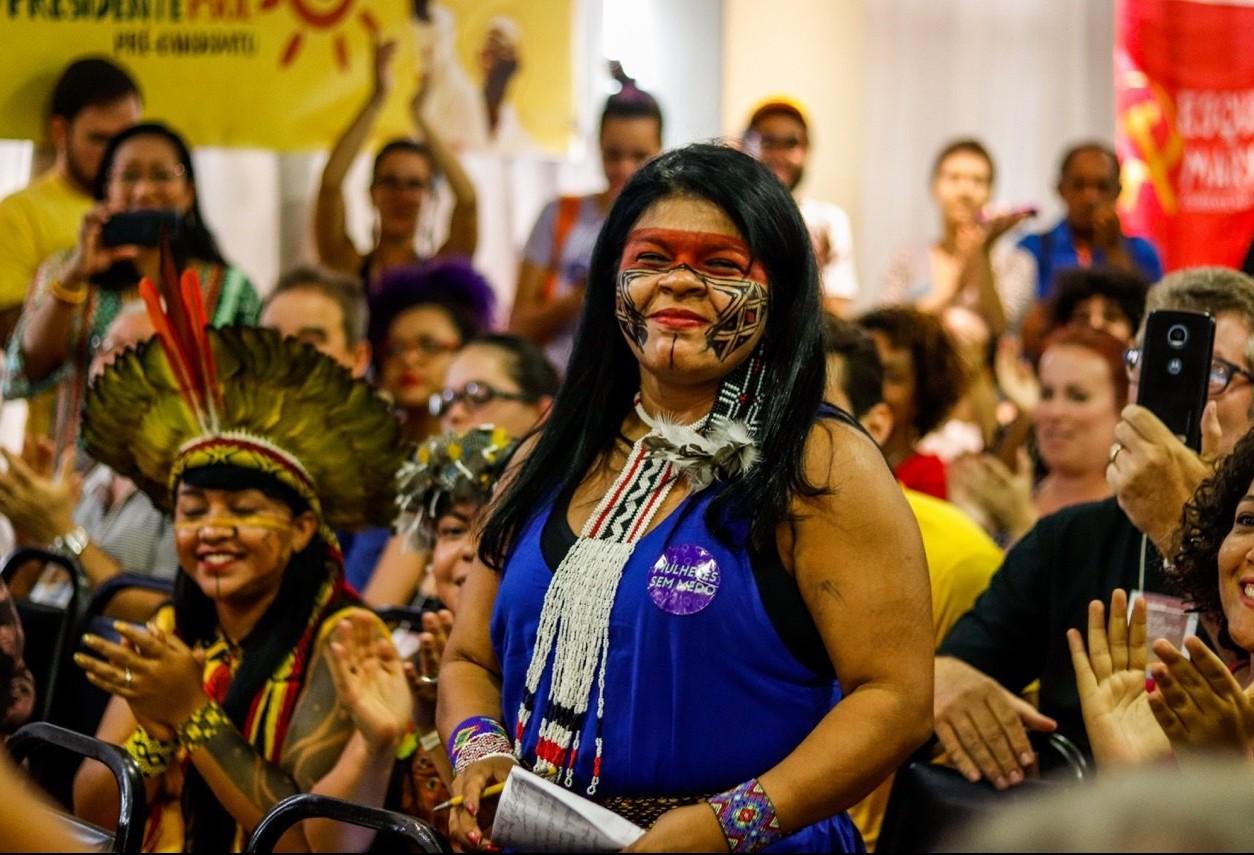 'A democracia precisa ter nossa a nossa cara', diz Sônia Guajajara
