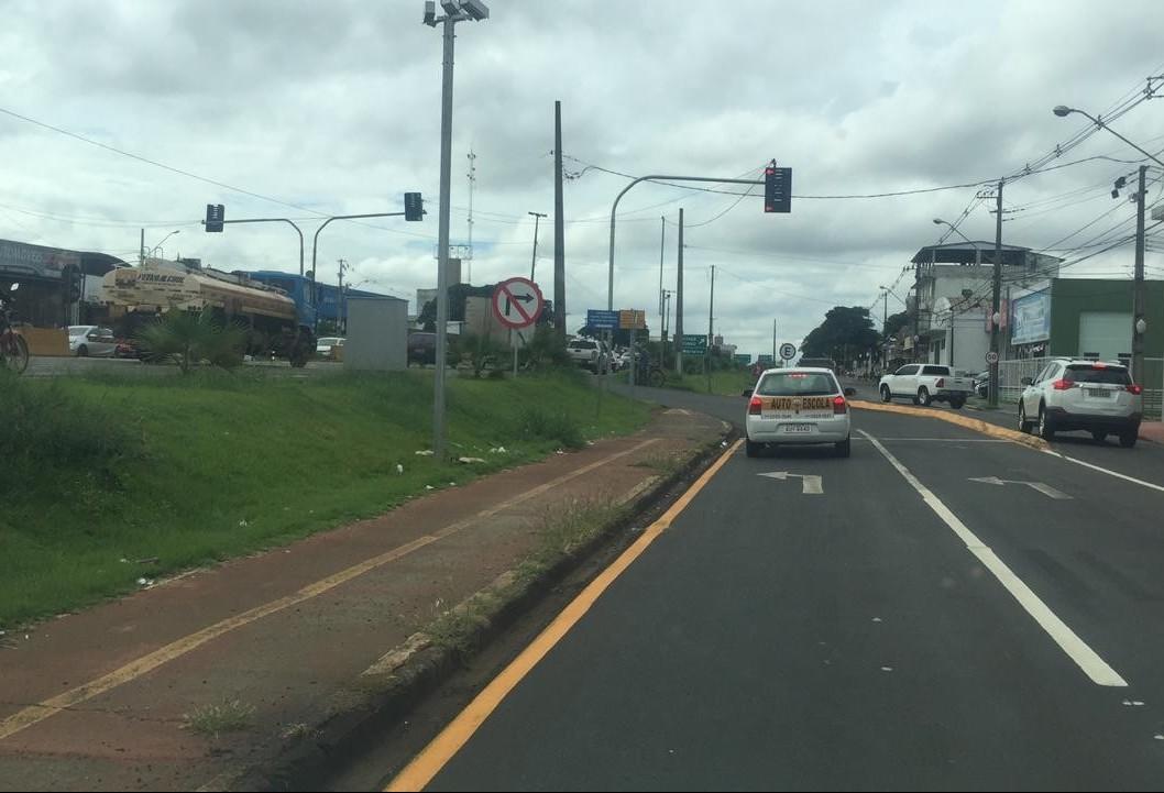Prefeitura cobra obras de adequação para fechamento de cruzamentos