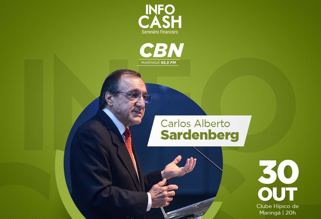 Concorra a convites para o seminário financeiro que terá palestra de Carlos Alberto Sardenberg