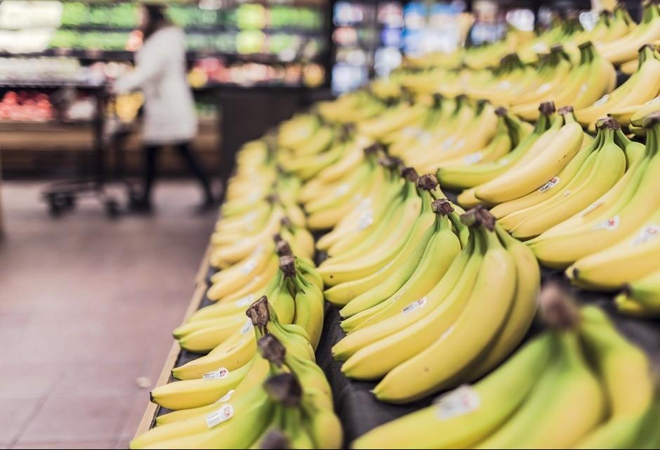 Preço da banana está em queda