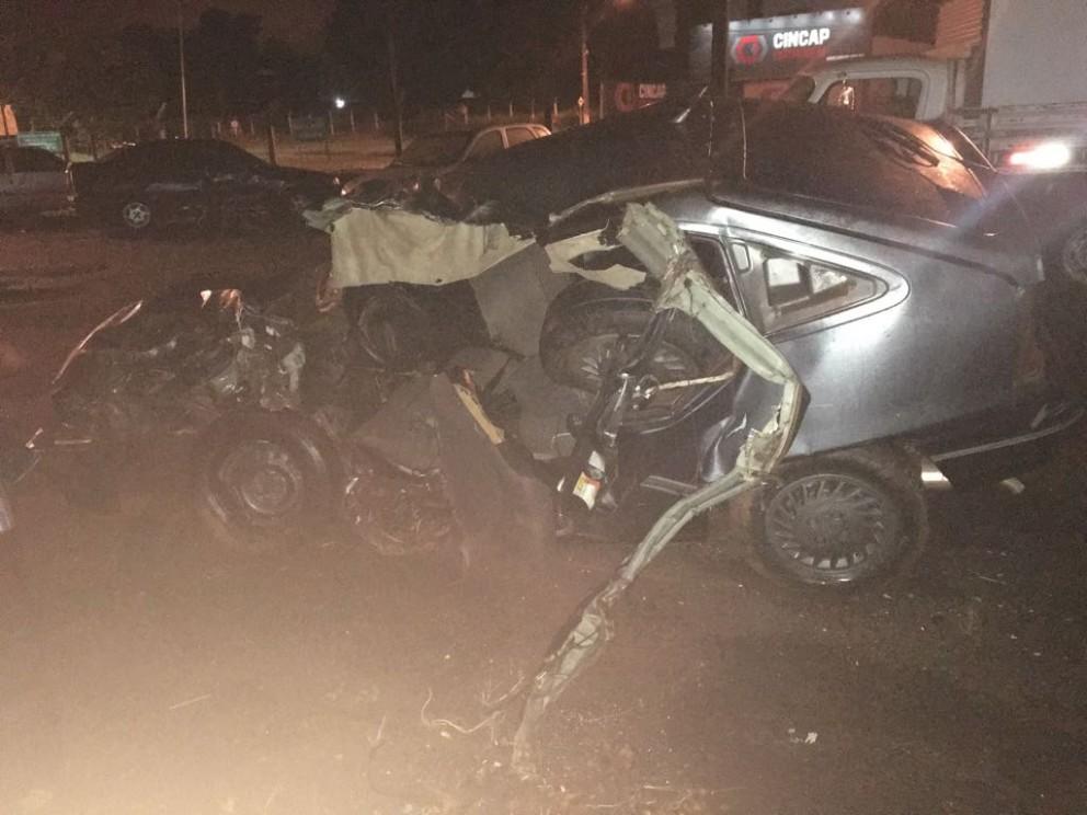 Quatro pessoas morrem e cinco ficam feridas em acidente na PR 567
