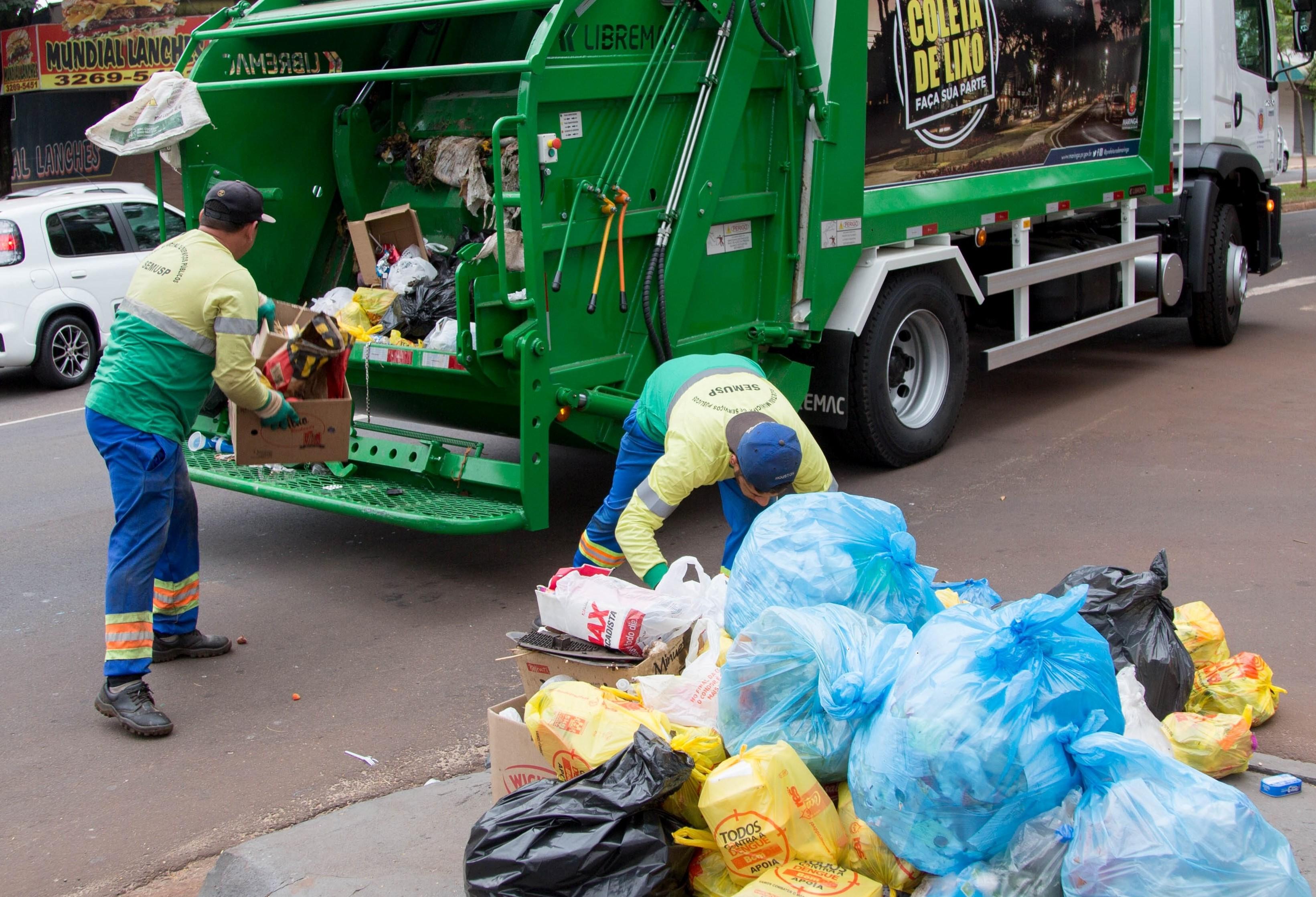 Prefeitura estuda avisar moradores sobre coleta de lixo