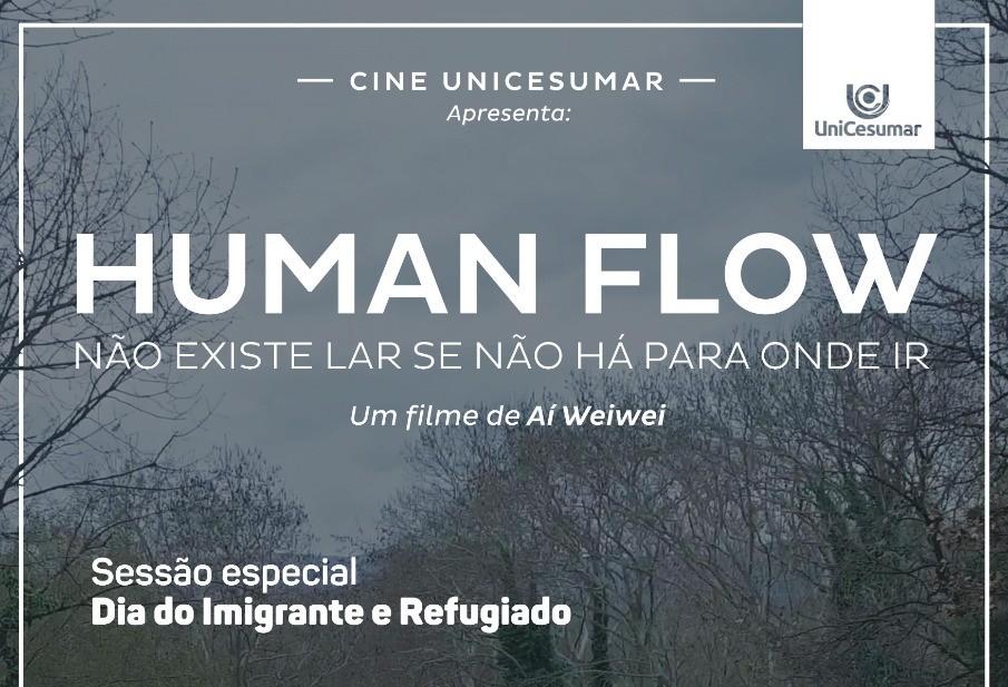 Centro universitário exibe filme para marcar o dia do imigrante