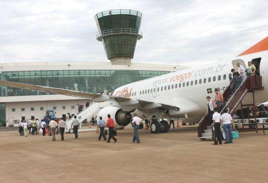 Aeroporto de Maringá não recebeu dois voos durante a paralisação dos caminhoneiros