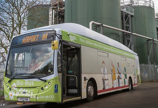 Biobus Geneco entra em circulação na Inglaterra