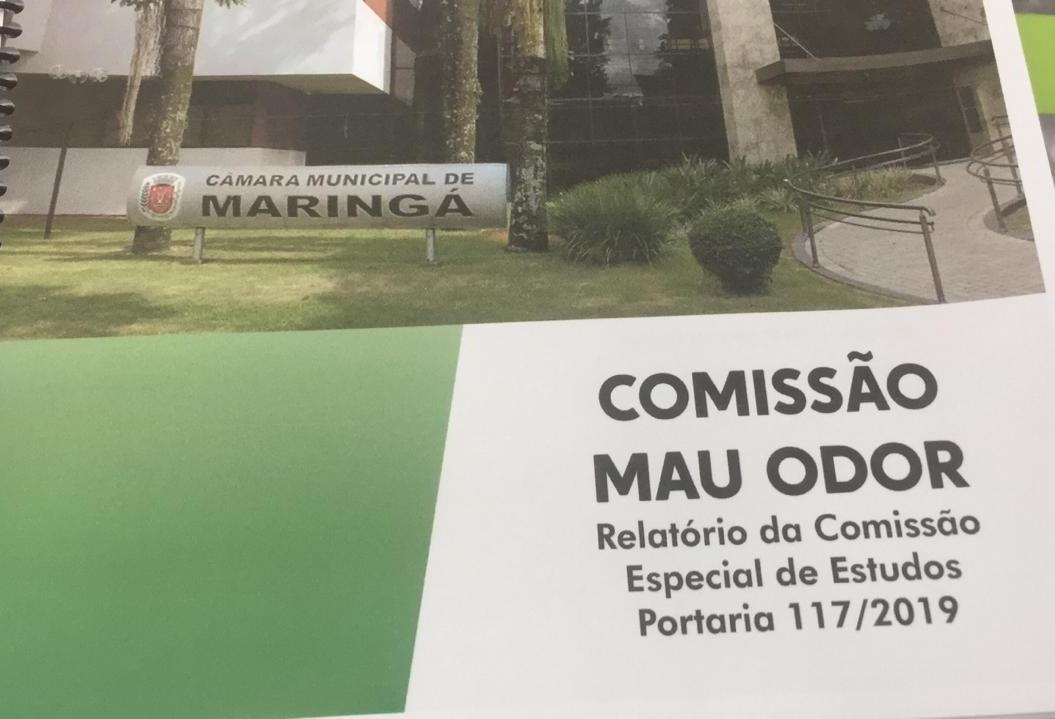 Comissão do Mau Odor entrega relatório
