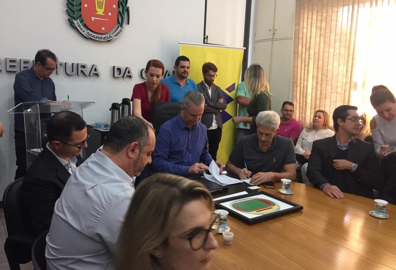 Prefeitura de Maringá faz empréstimo de R$ 59 milhões para investir no setor do esporte