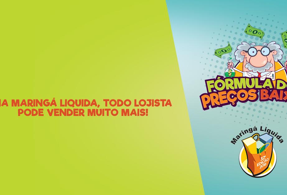 Durante Maringá Liquida, aconselhável é comprar peças atemporais