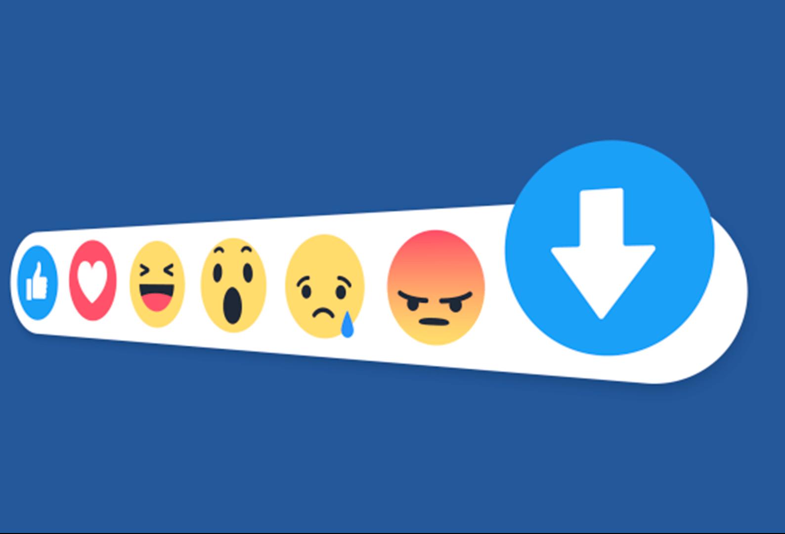 Facebook testa 'downvote' em comentários