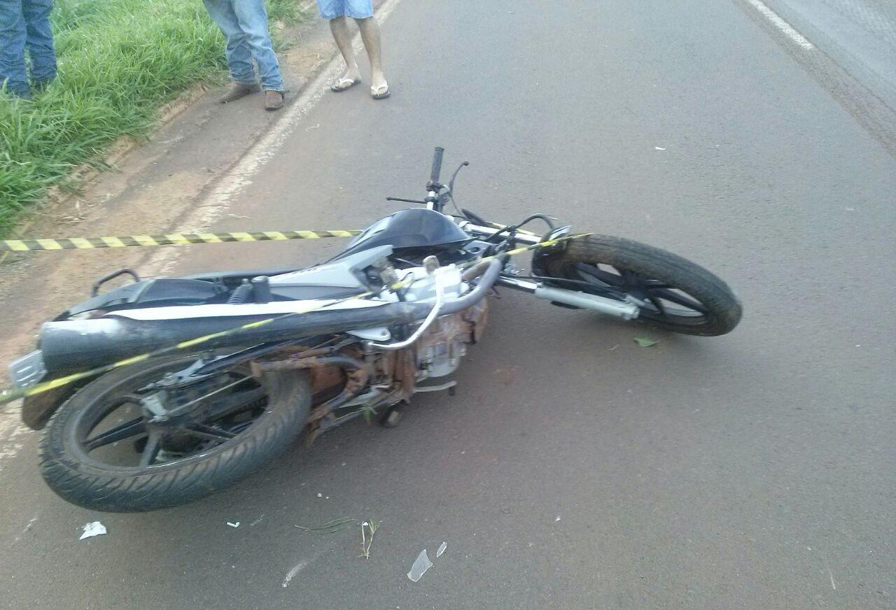 Motociclista morre em acidente na PR-218