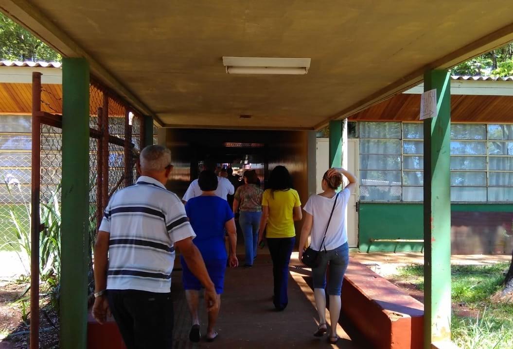 Votação na Unidade Polo está sem filas