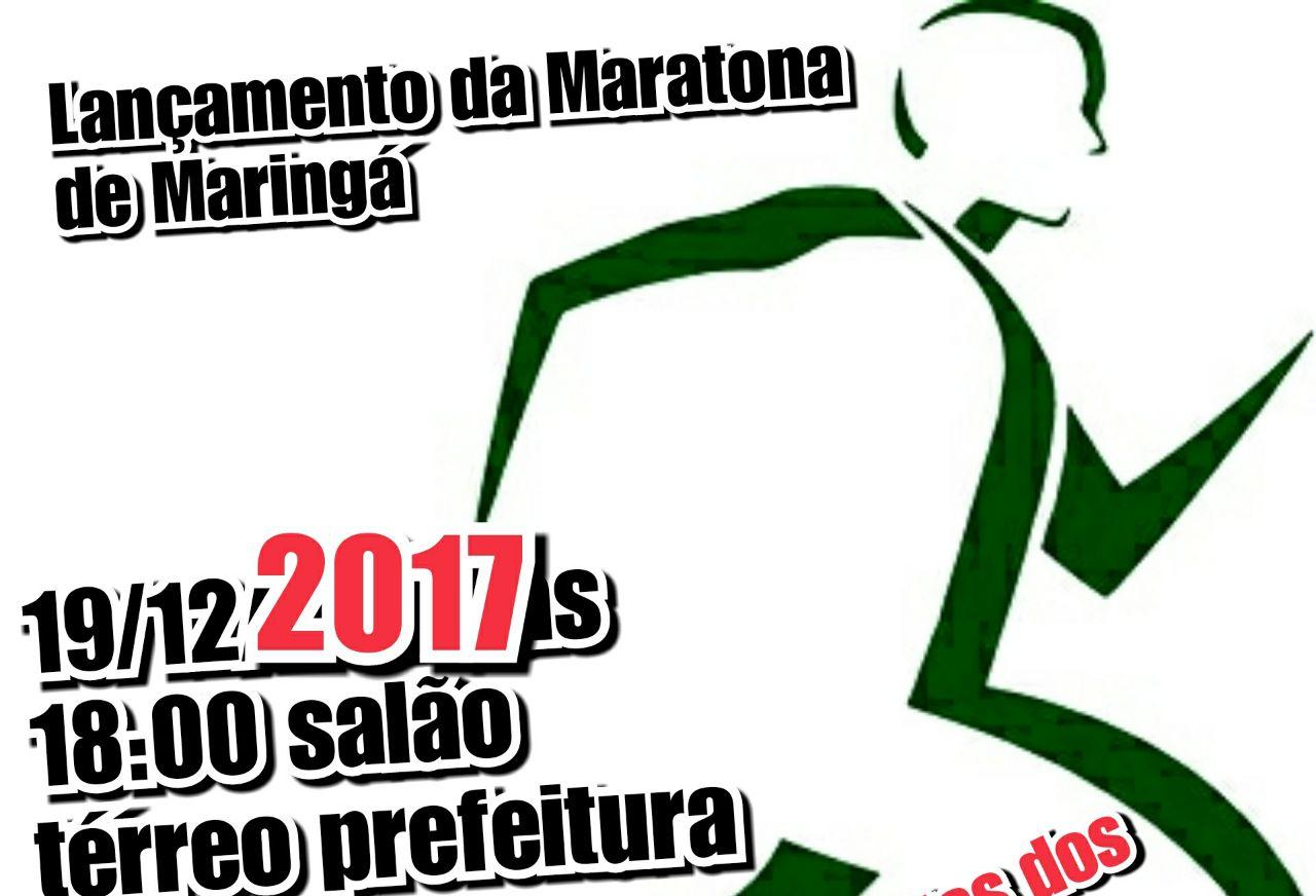 Maringá terá maratona a partir de 2018
