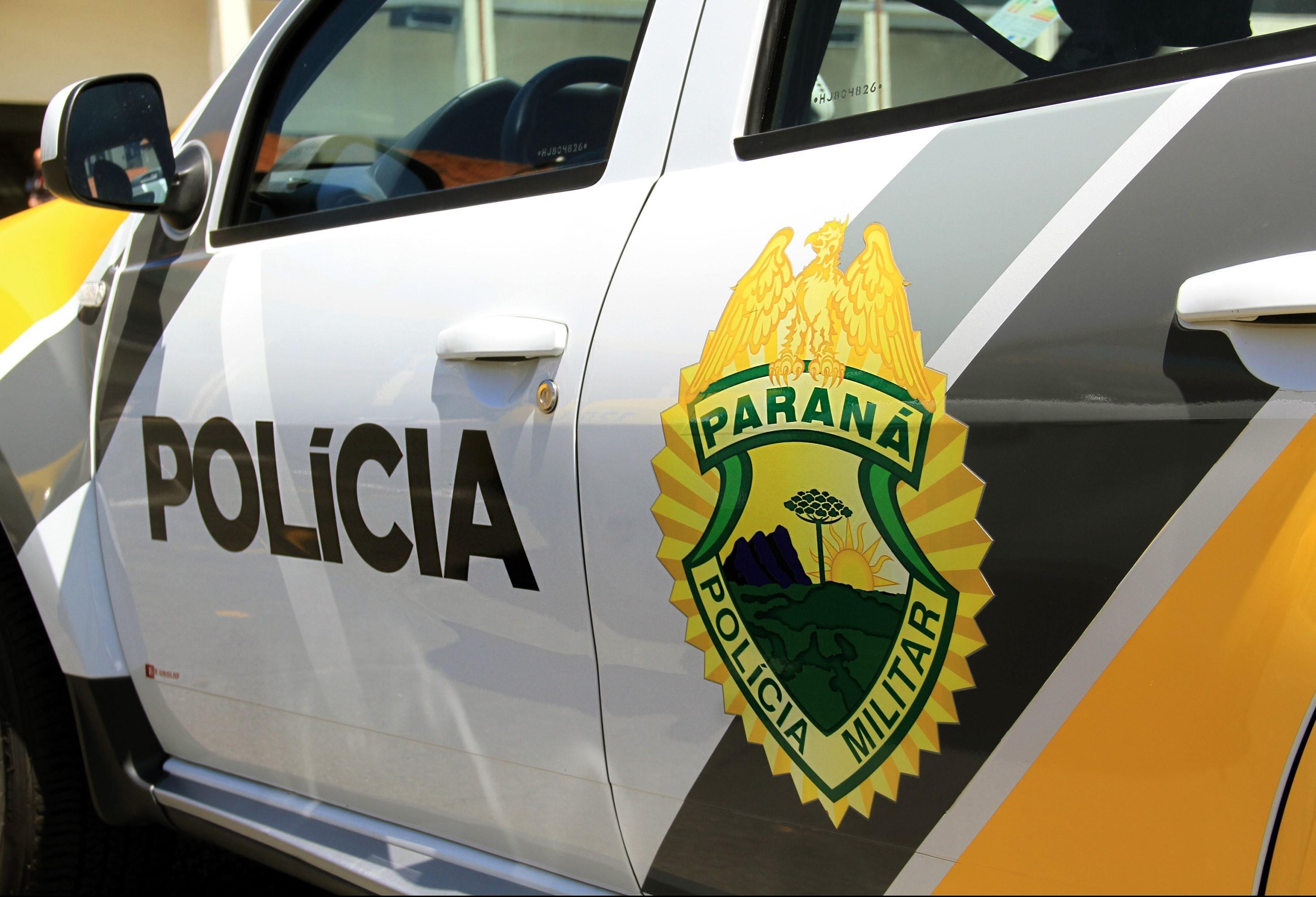 Ao fugir, homem cai de moto e é preso em Maringá