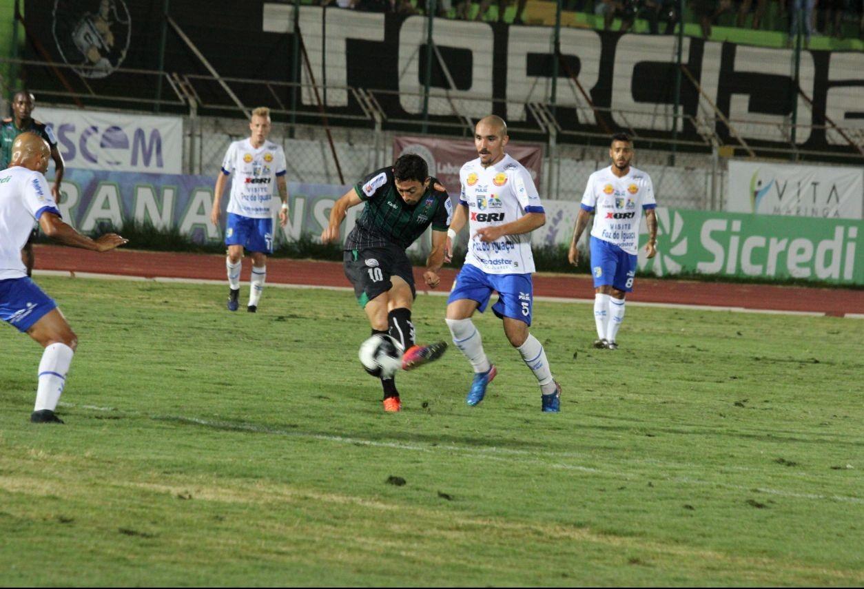 Partida do Maringá FC contra Madureira é decisiva