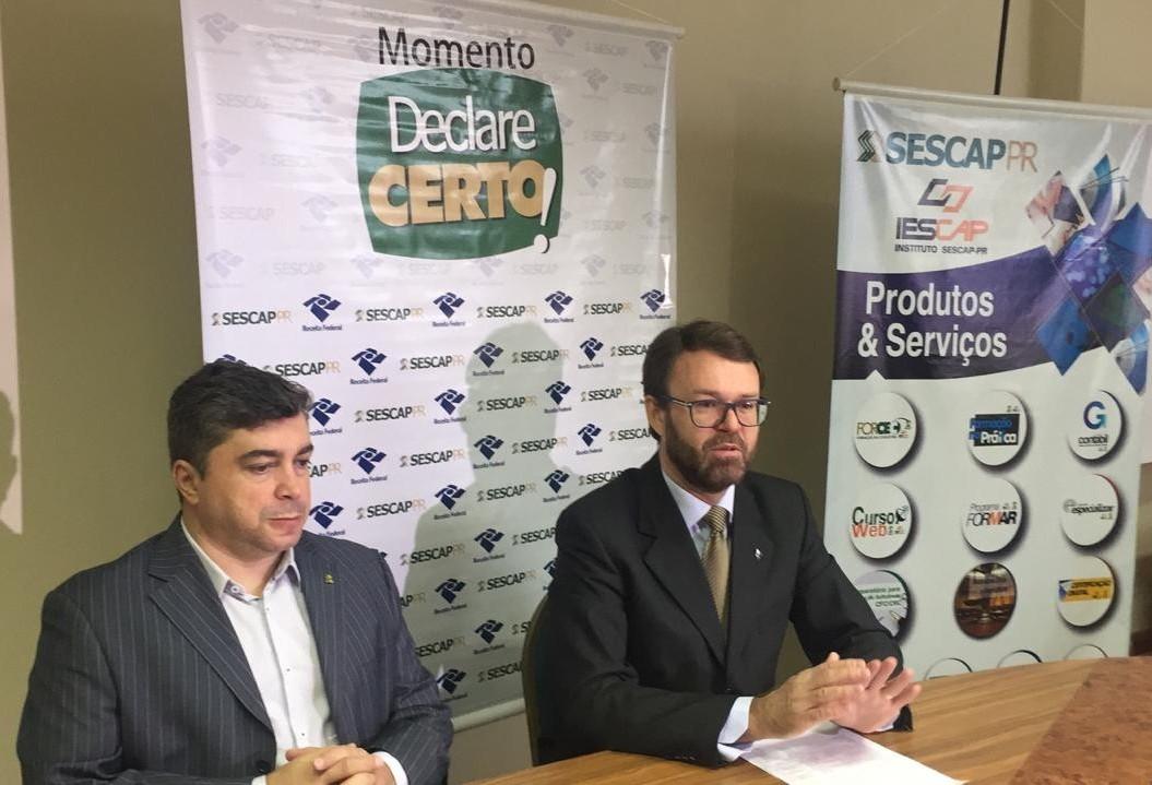 Receita Federal espera receber 99.100 declarações em Maringá