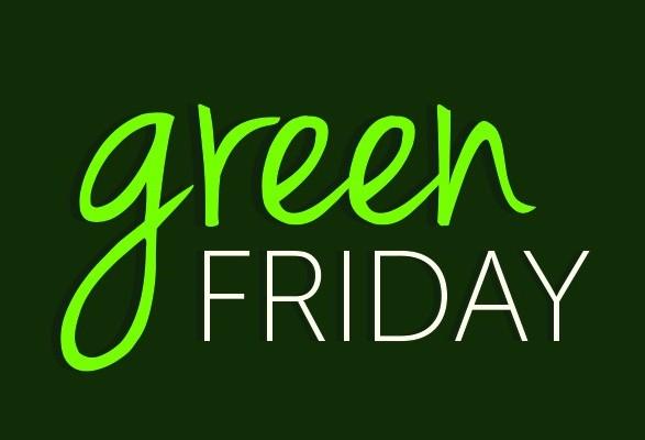 Green Friday é a oportunidade de comprar e ajudar o meio ambiente