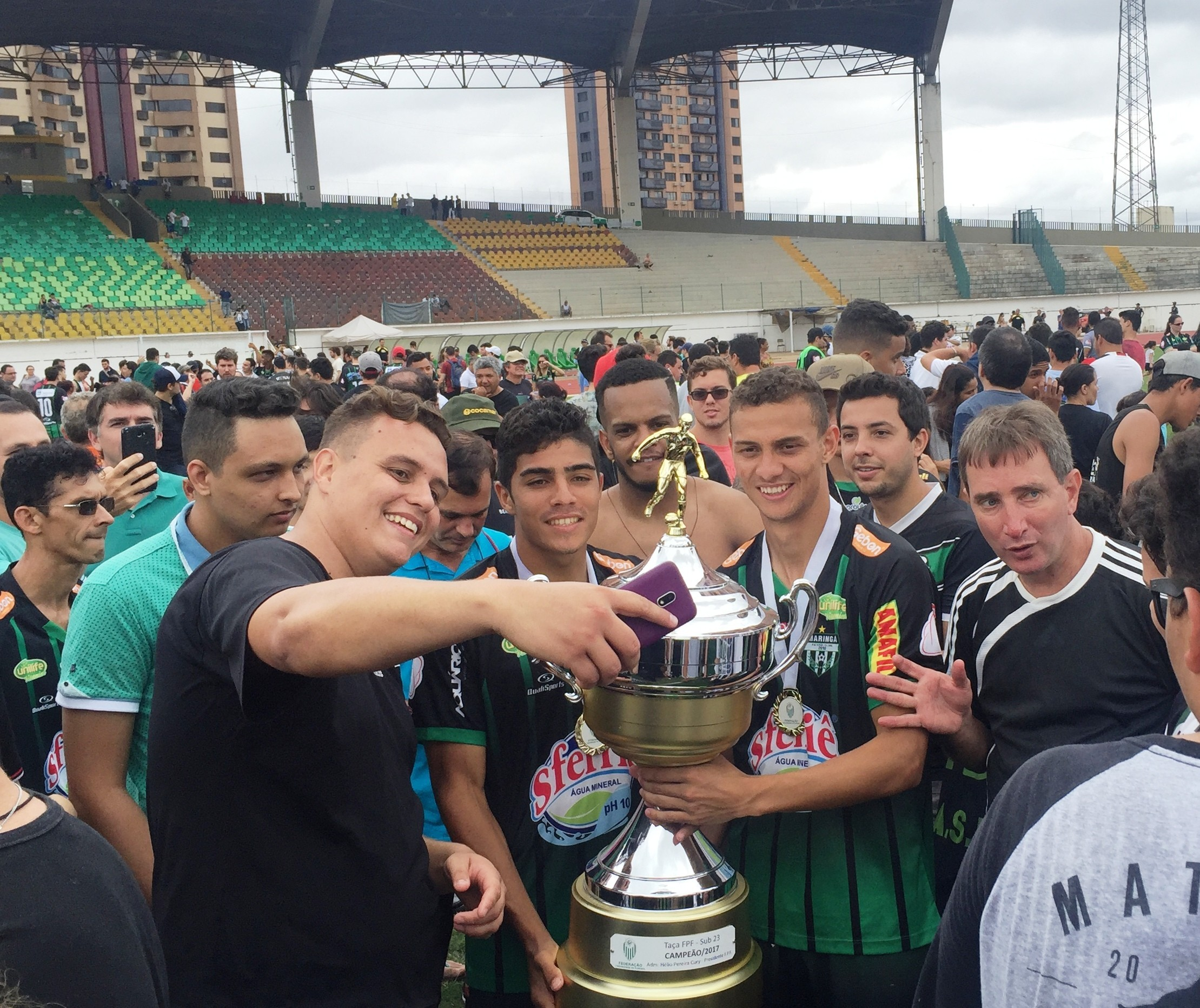 Maringá FC é bicampeão da Taça FPF sub-23