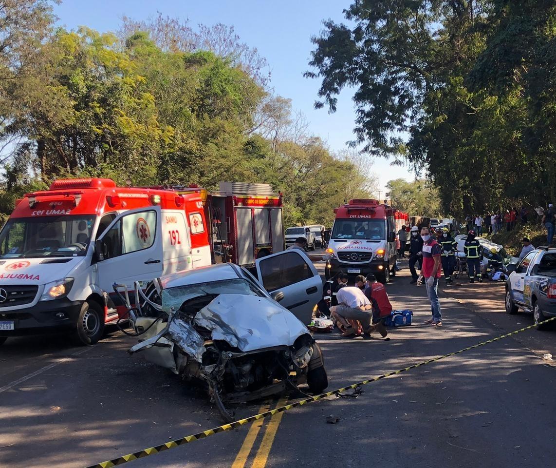 Morre jovem vítima de acidente na PR-323