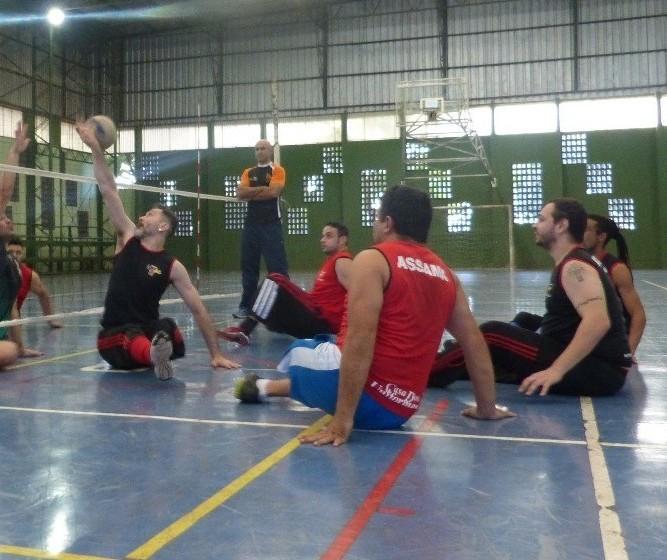 Equipe maringaense participa de Campeonato Paranaense de Paravôlei