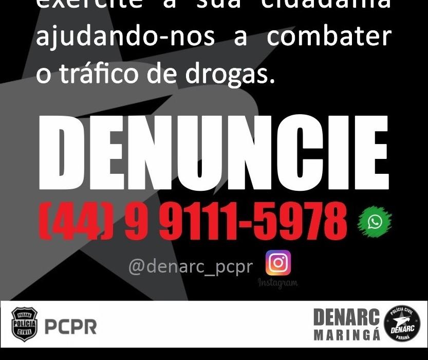Denarc recebe denúncias pelo WhatsApp e Instagram