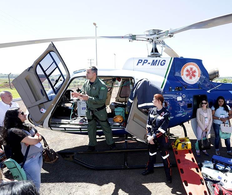 Operação aérea do Samu Regional completa um ano