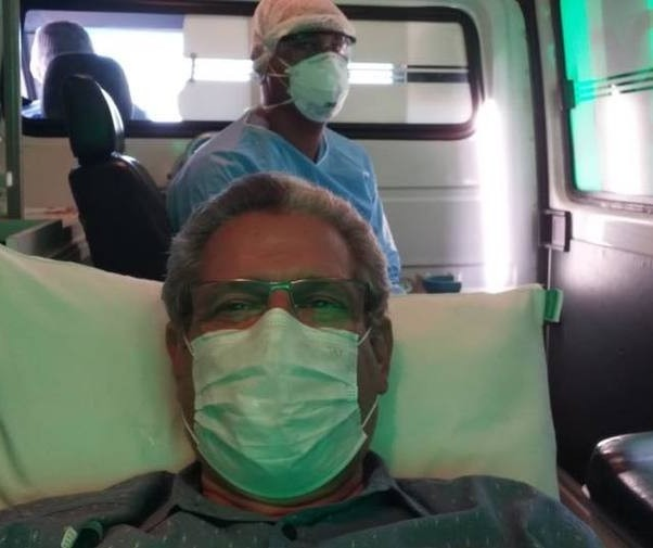 Com coronavírus, ex-prefeito Silvio Barros é levado à UTI