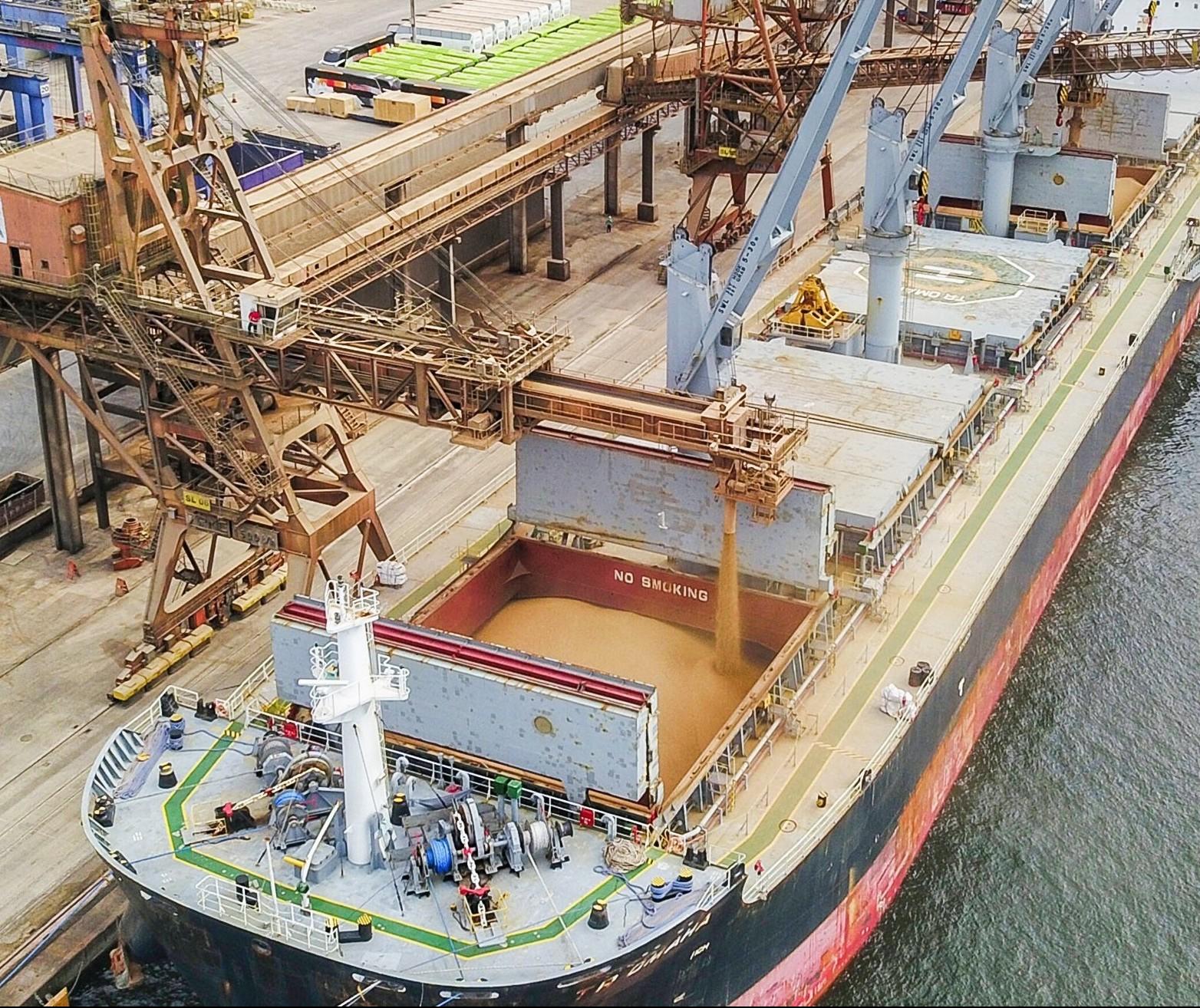 Porto de Paranaguá: movimentação bate recorde mensal em maio