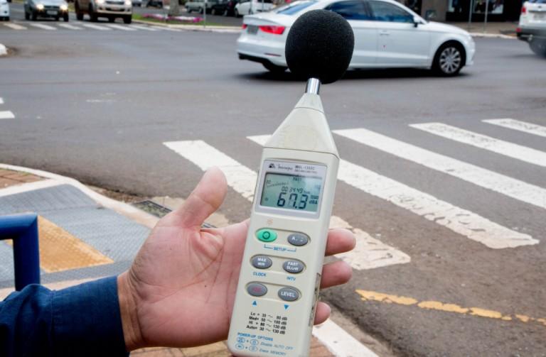 Em um mês, Patrulha do Som emite 17 multas em Maringá