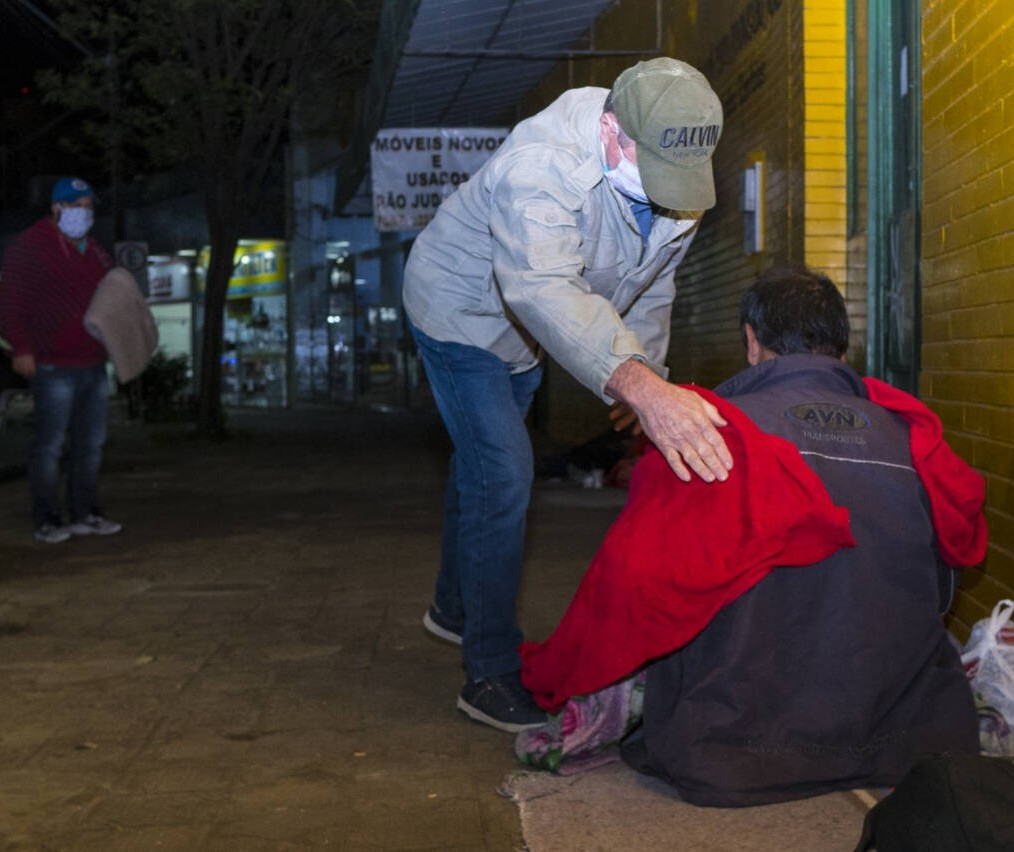 Nos últimos dois dias, equipes da SAS acolheram 18 moradores de rua