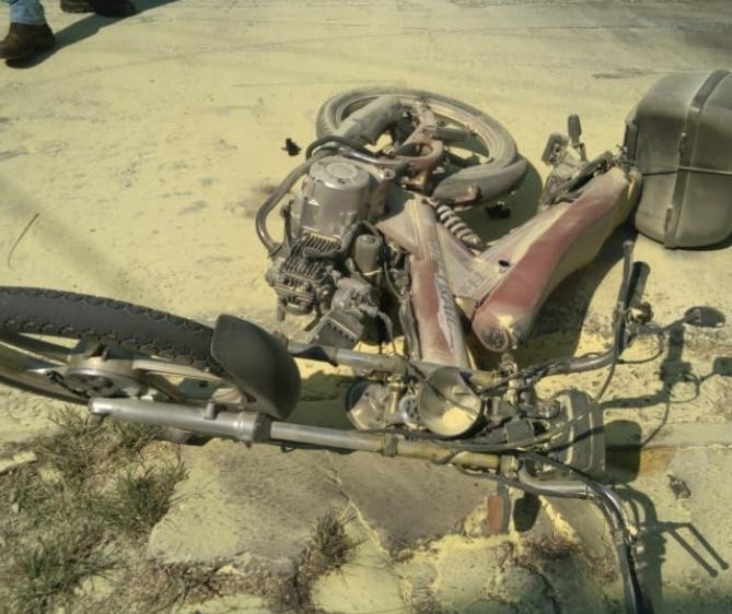 Morre motociclista que teve 40% do corpo queimado em acidente em Maringá