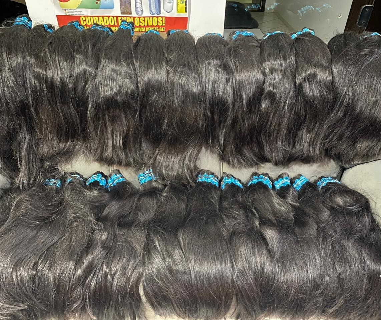 Polícia Rodoviária apreende 26 quilos de cabelo humano