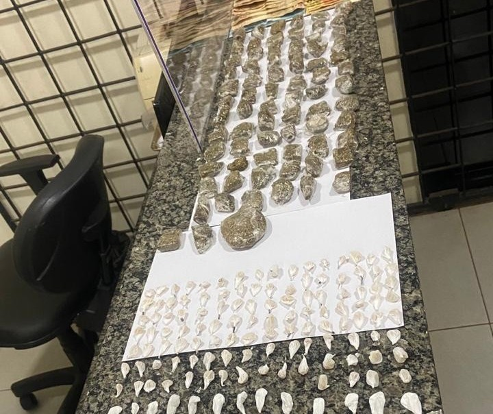 Em Sarandi, homens são presos com drogas