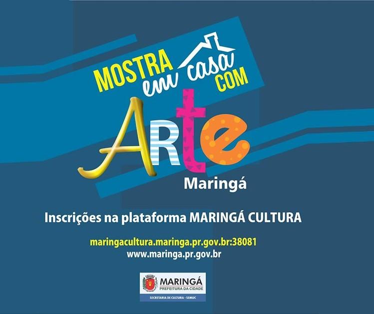 Cultura lança edital de R$ 200 mil para artistas em Maringá