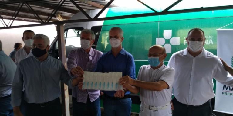 Vacina contra a Covid-19 deve chegar em Maringá até essa terça (19), afirma o prefeito