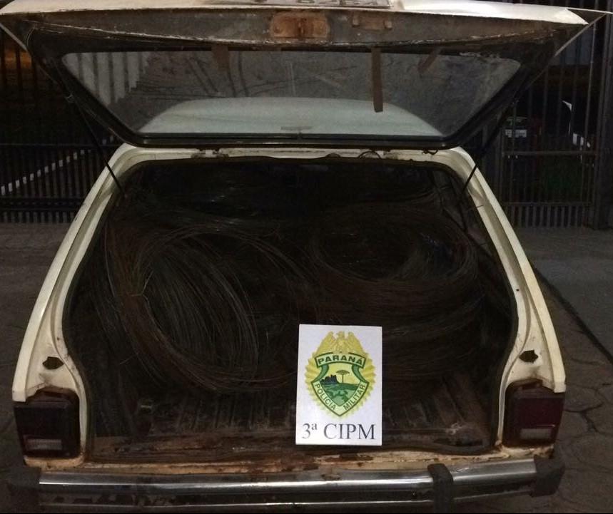 Polícia prende ladrões de propriedades rurais