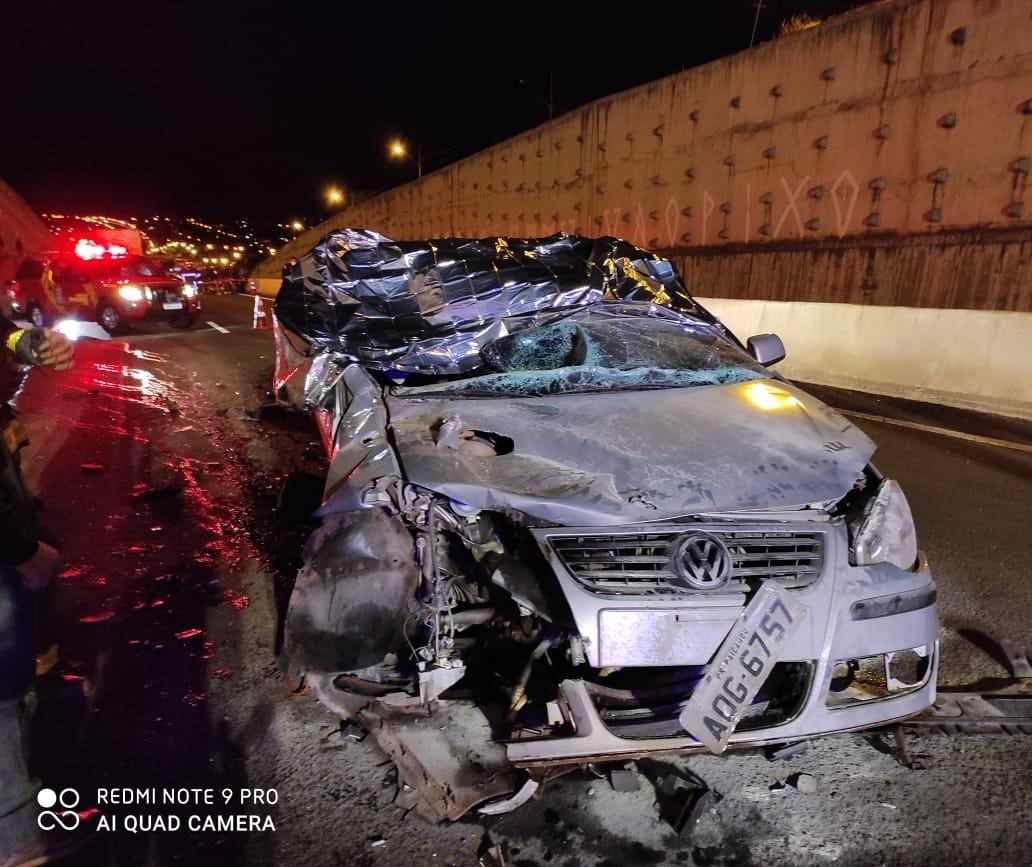 Motorista morre em acidente no Contorno Norte