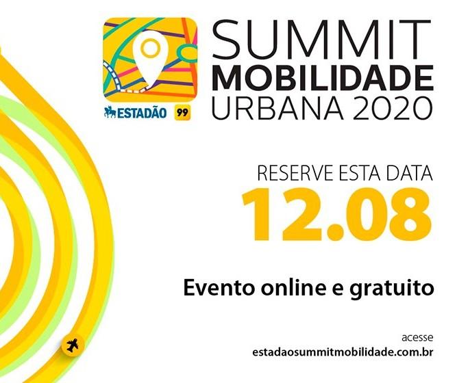 Summit Mobilidade Urbana 2020 é nessa quarta (12)