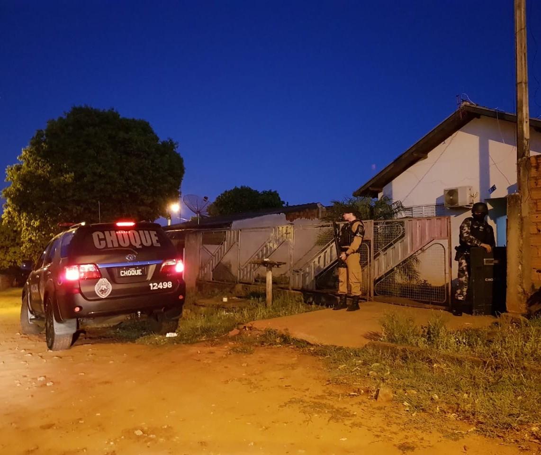 128 policiais cumprem 32 mandados de prisão em cidades do noroeste