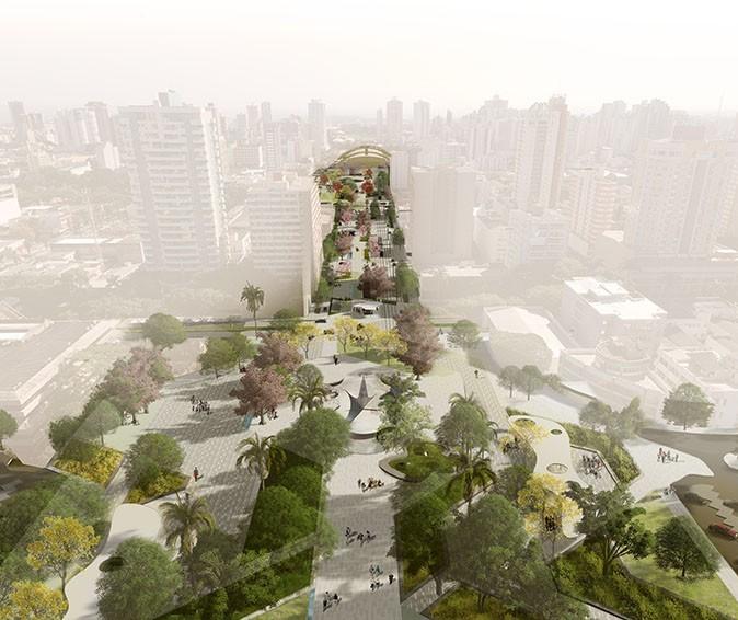 Novo Eixo Monumental prioriza pedestres