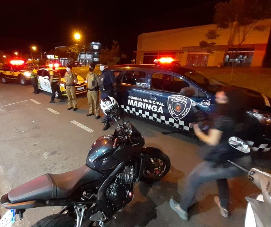 Decreto: Estabelecimentos são vistoriados em Maringá; bar é interditado