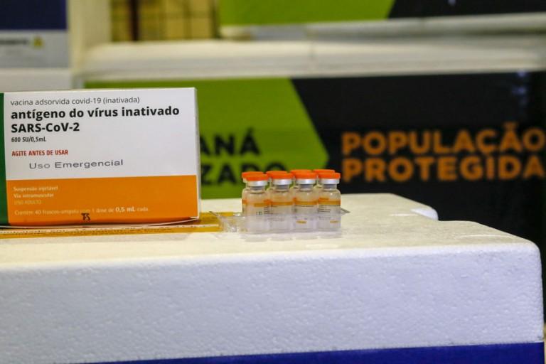 Maringá recebe mais 6.059 vacinas para a aplicação da 2ª dose da CoronaVac