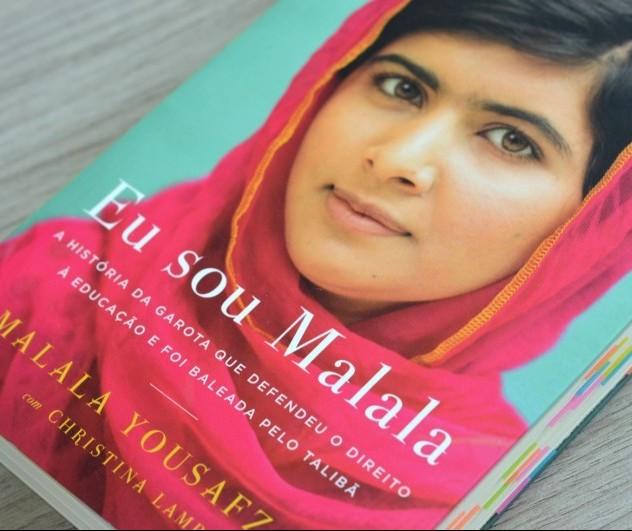 'Eu sou Malala' é um livro que mostra a luta pela educação