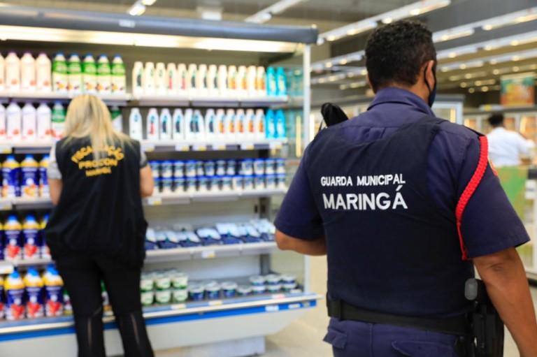 Confira a lista de supermercados autuados desde o dia 29 de março, segundo a Prefeitura de Maringá