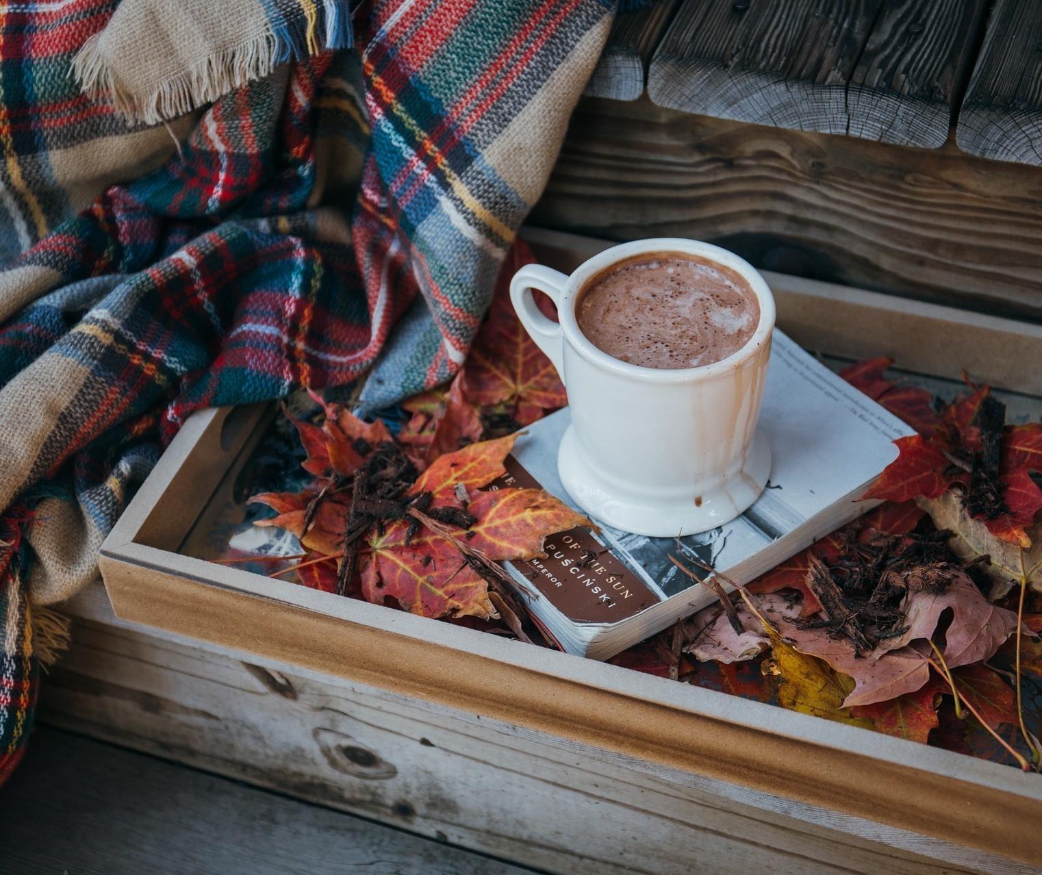 Para esses dias frios, a sugestão é um delicioso chocolate quente