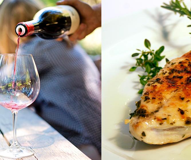 Qual vinho combina com frango?