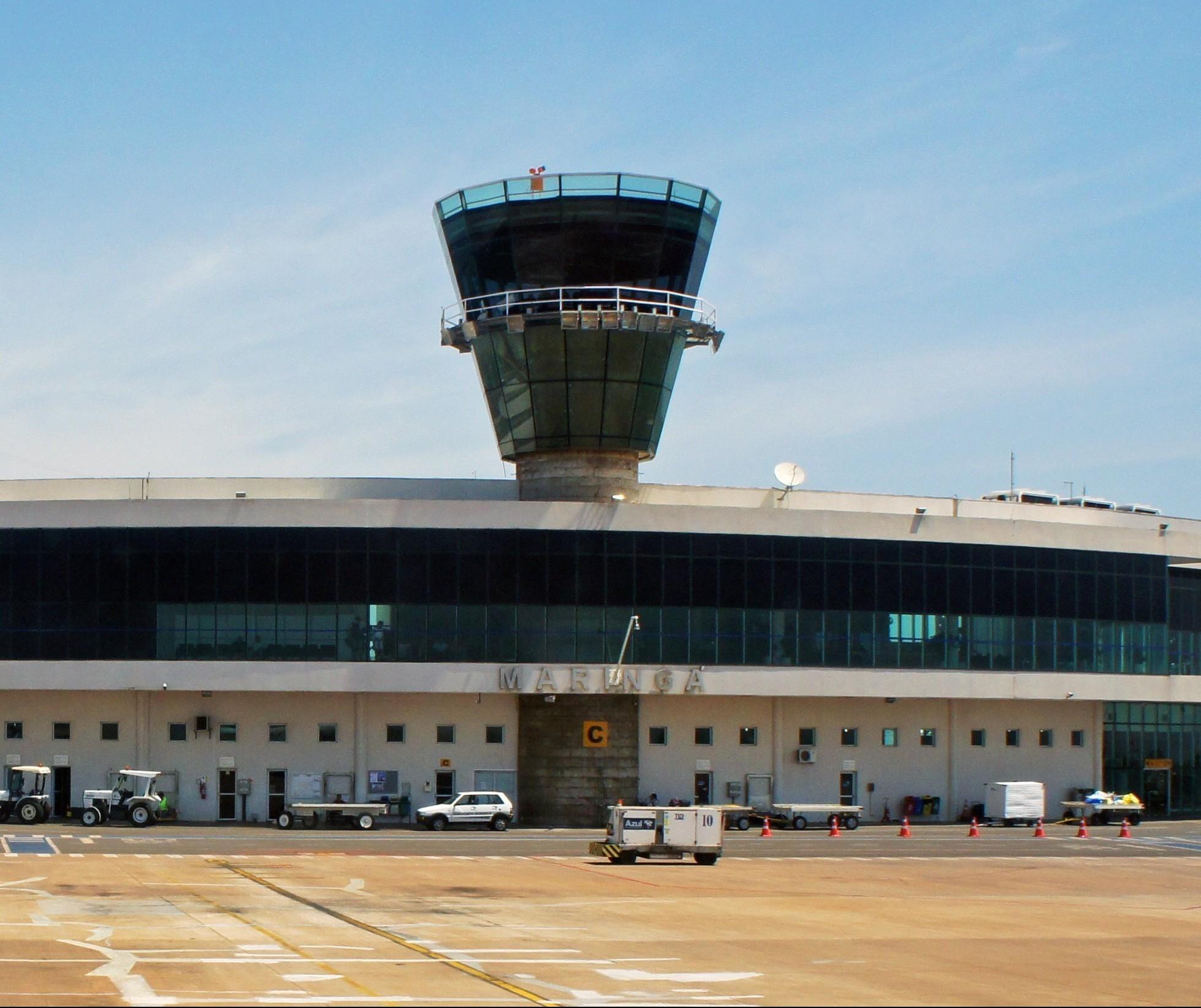 Aeroporto de Maringá fecha semestre com 33% a menos de passageiros