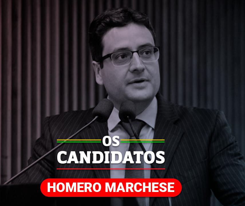 Quem é o candidato Homero Marchese e quais são suas propostas?