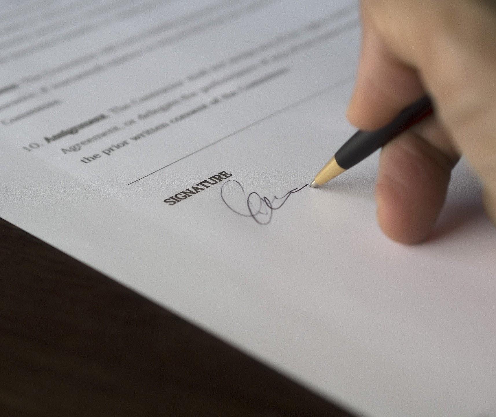 Cartórios podem fazer assinatura digital em escrituras públicas
