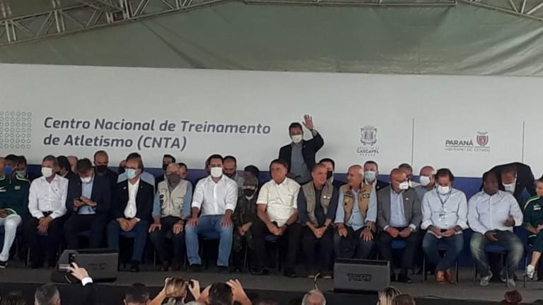 Bolsonaro inaugura nesta quinta-feira (4) em Cascavel, Centro Nacional de Treinamento de Atletismo
