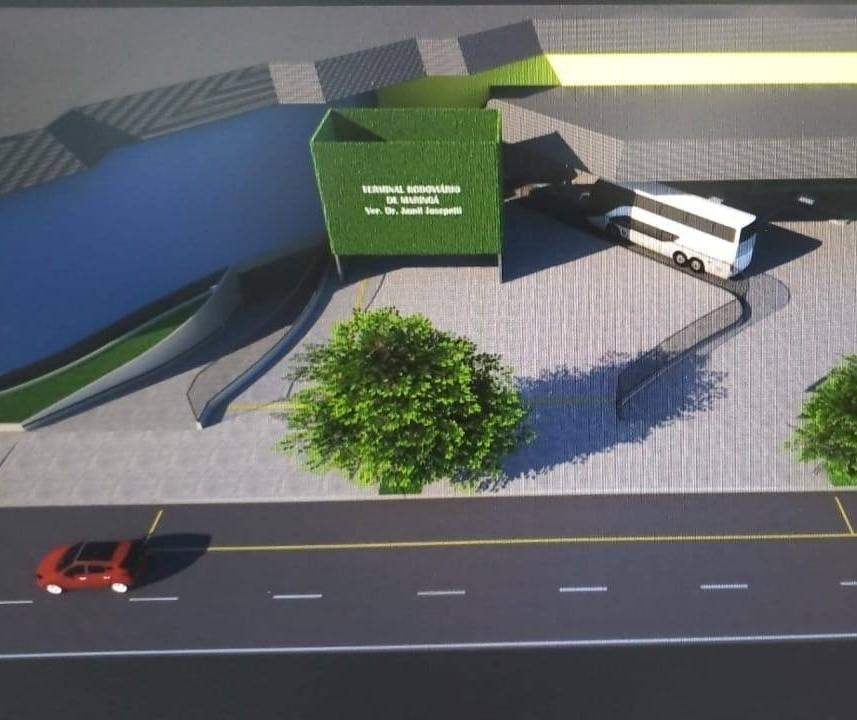Veja como ficará a rodoviária de Maringá após a reforma